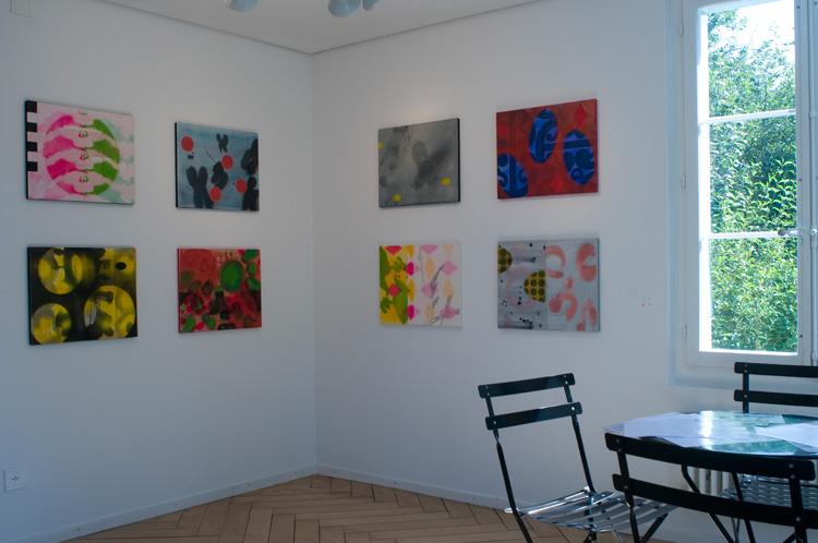 einzelausstellung galerie atelier worb, 2010