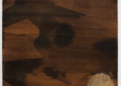 from DAO-serie; 2014 – 2015, tusche, eichengallentinte, blattgold, 50 x 50 cm