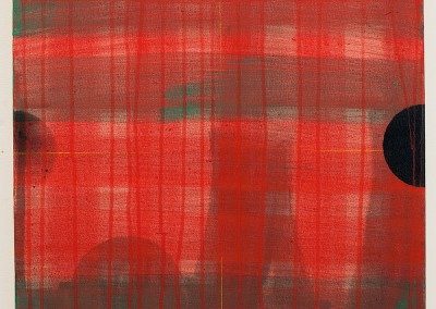from DAO-serie; 2014 – 2015, tusche, pigmente, acryl, öl, 50 x 50 cm